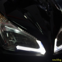 Headlamp LED Vario alternatif modifikasi kece
