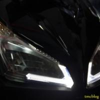 Headlamp LED Vario alternatif modifikasi kece
