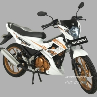 Suzuki Satria FU White Fighter siap ngaspal