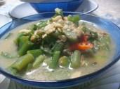 Sayur Lodeh Lompong/batang talas